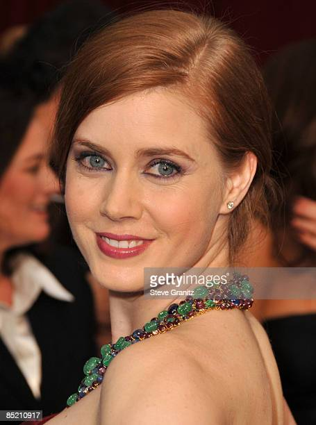 Amy Adams arrives at the 81st Academy Awards at The Kodak Theatre on February 22 2009 in Hollywood California