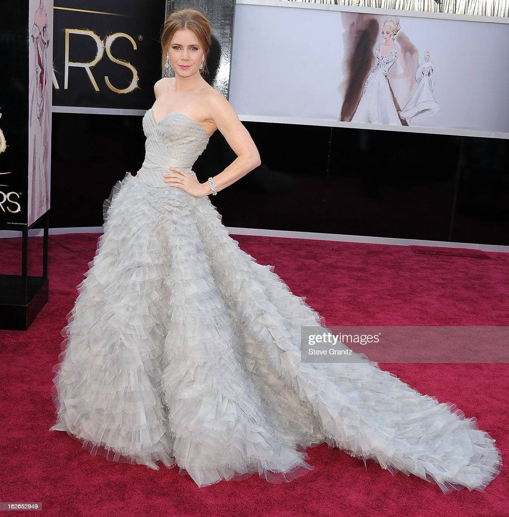 <a gi-track='captionPersonalityLinkClicked' href=/galleries/search?phrase=Amy+Adams&family=editorial&specificpeople=213938 ng-click='$event.stopPropagation()'>Amy Adams</a> arrives at the 85th Annual Academy Awards at Dolby Theatre on February 24, 2013 in Hollywood, California.