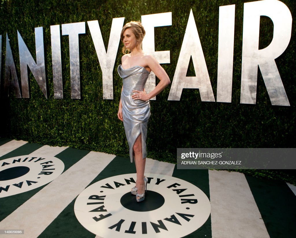 Amy Adams arrives at the Vanity Fair Oscar Party, for the 84th Annual Academy Awards, at the Sunset Tower on February 26, 2012 in West Hollywood, California. GONZALEZ