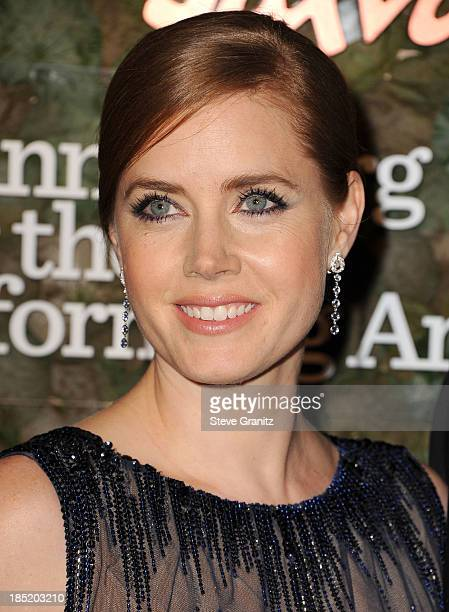 Amy Adams arrives at the Wallis Annenberg Center For The Performing Arts Inaugural Gala at Wallis Annenberg Center for the Performing Arts on October...