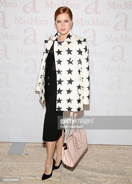 Amy Adams attends Max Mara Spring/Summer 2016 Accessories Campaign Celebration at Four Seasons Restaurant on October 19 2015 in New York City