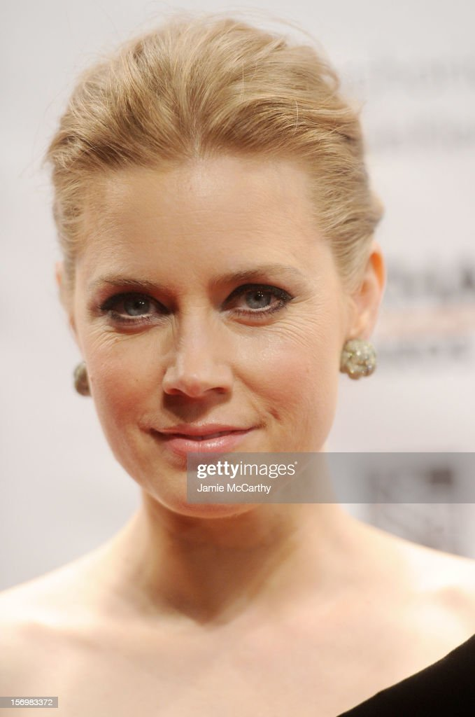 Amy Adams attends the 22nd Annual Gotham Independent Film Awards at Cipriani Wall Street on November 26, 2012 in New York City.