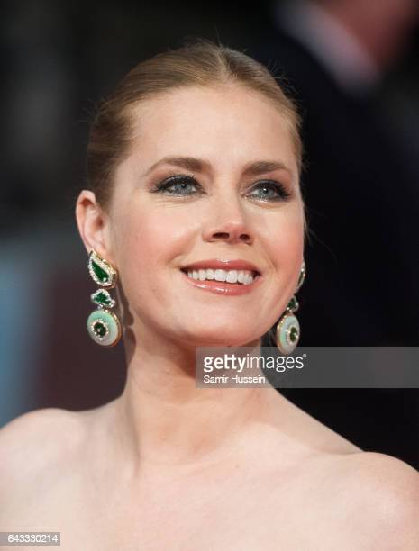 Amy Adams attends the 70th EE British Academy Film Awards at Royal Albert Hall on February 12 2017 in London England