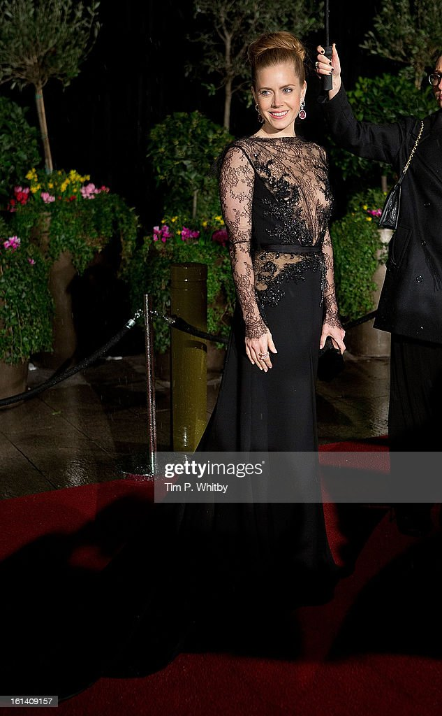 <a gi-track='captionPersonalityLinkClicked' href=/galleries/search?phrase=Amy+Adams&family=editorial&specificpeople=213938 ng-click='$event.stopPropagation()'>Amy Adams</a> attends the after party for the EE British Academy Film Awards at Grosvenor House, on February 10, 2013 in London, England.