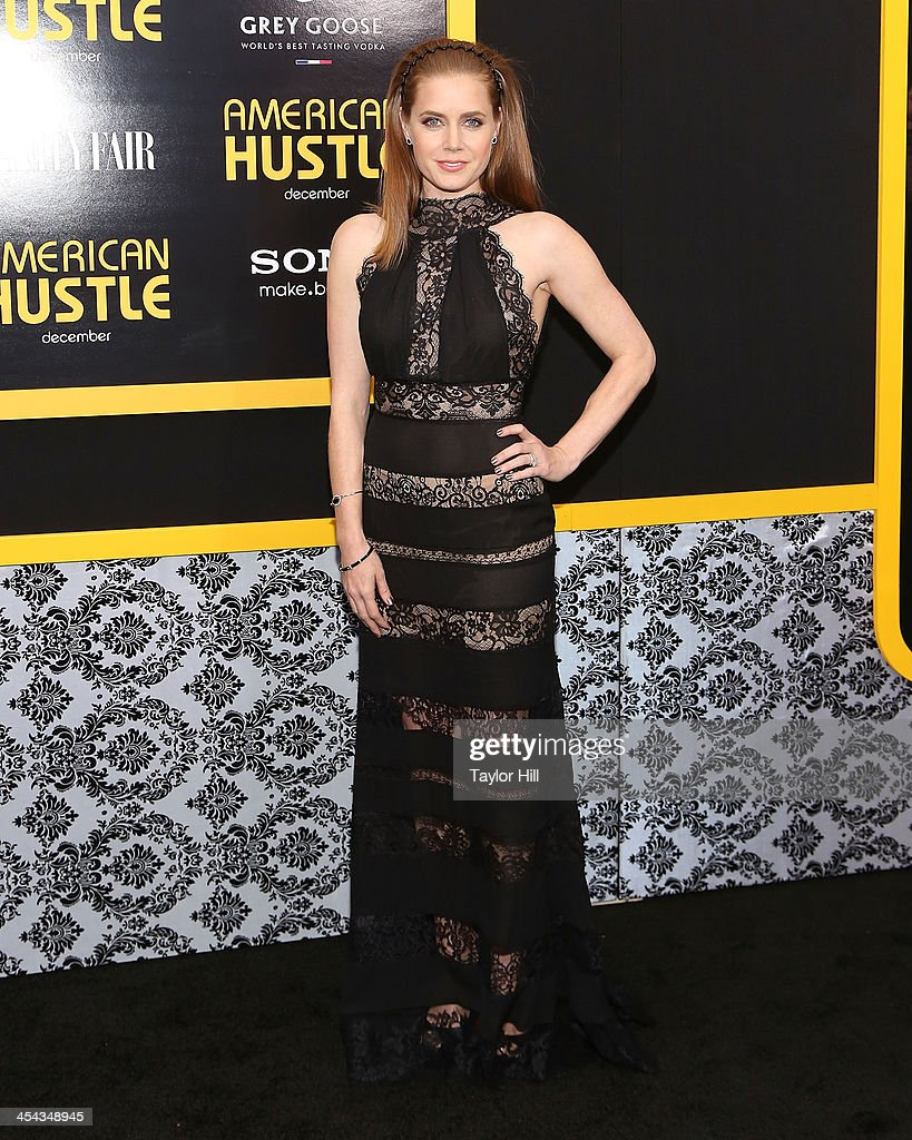 <a gi-track='captionPersonalityLinkClicked' href=/galleries/search?phrase=Amy+Adams&family=editorial&specificpeople=213938 ng-click='$event.stopPropagation()'>Amy Adams</a> attends the 'American Hustle' screening at Ziegfeld Theater on December 8, 2013 in New York City.