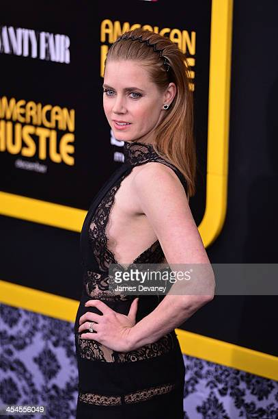 Amy Adams attends the 'American Hustle' screening at Ziegfeld Theater on December 8 2013 in New York City