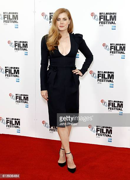 Amy Adams attends the 'Arrival' photocall during the 60th BFI London Film Festival at Corinthia Hotel London on October 11 2016 in London England