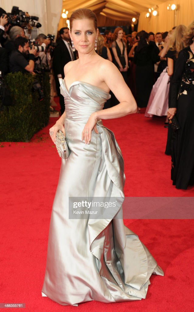 Amy Adams attends the 'Charles James Beyond Fashion' Costume Institute Gala at the Metropolitan Museum of Art on May 5 2014 in New York City