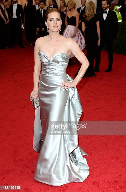 Amy Adams attends the 'Charles James Beyond Fashion' Costume Institute Gala held at the Metropolitan Museum of Art on May 5 2014 in New York City
