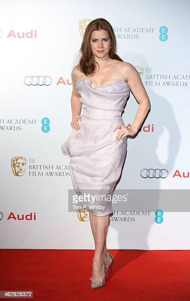 Amy Adams attends the EE British Academy Awards nominees party at Kensington Palace on February 7 2015 in London England