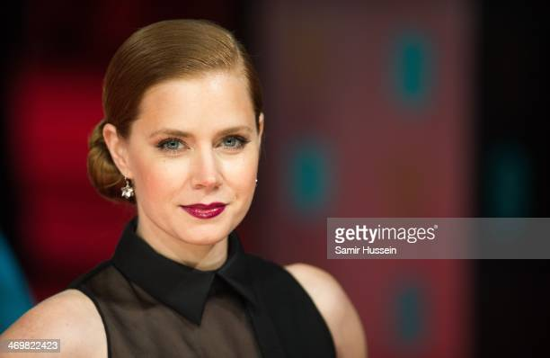 Amy Adams attends the EE British Academy Film Awards 2014 at The Royal Opera House on February 16 2014 in London England