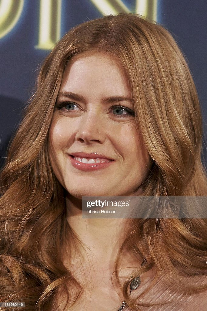Amy Adams attends the Hollywood Foreign Press Association's Cecil B. DeMille Award recipient announcement at The Beverly Hilton hotel on November 9, 2011 in Beverly Hills, California.