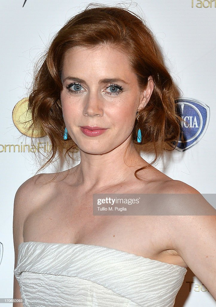 <a gi-track='captionPersonalityLinkClicked' href=/galleries/search?phrase=Amy+Adams&family=editorial&specificpeople=213938 ng-click='$event.stopPropagation()'>Amy Adams</a> attends the Lancia Cafe during the Taormina Filmfest 2013 on June 15, 2013 in Taormina, Italy.