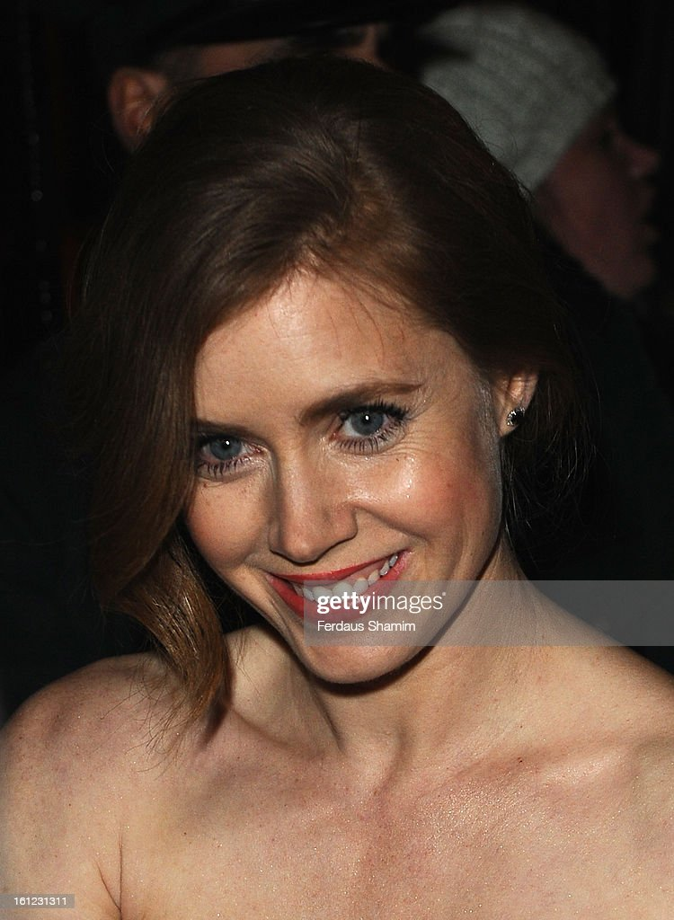 <a gi-track='captionPersonalityLinkClicked' href=/galleries/search?phrase=Amy+Adams&family=editorial&specificpeople=213938 ng-click='$event.stopPropagation()'>Amy Adams</a> attends the pre-BAFTA dinner hosted by Charles Finch and Chanel at Annabels on February 9, 2013 in London, England.