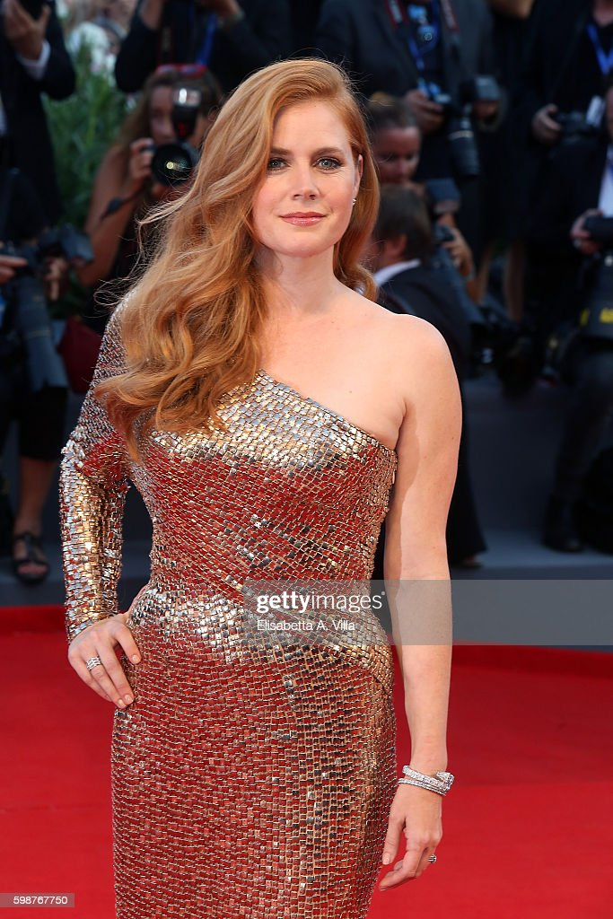 Amy Adams attends the premiere of 'Nocturnal Animals' during the 73rd Venice Film Festival at Sala Grande on September 2, 2016 in Venice, Italy.