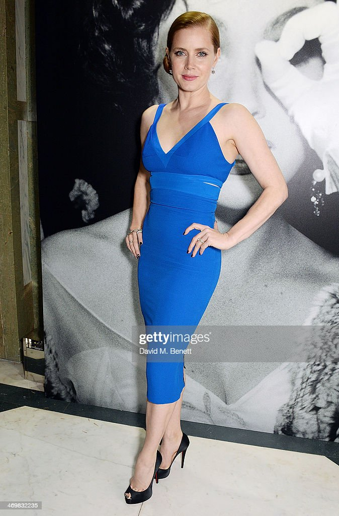 <a gi-track='captionPersonalityLinkClicked' href=/galleries/search?phrase=Amy+Adams&family=editorial&specificpeople=213938 ng-click='$event.stopPropagation()'>Amy Adams</a> attends The Weinstein Co, Entertainment and Pathe, post-BAFTA party hosted by Bulgari and Grey Goose at Rosewood London on February 16, 2014 in London, England.