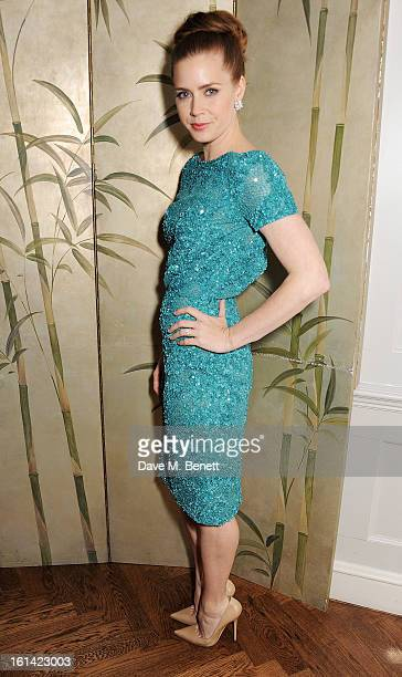 Amy Adams attends The Weinstein Company and Entertainment Film Distributors PostBAFTA Party hosted by Chopard and Grey Goose at LouLou's on February...