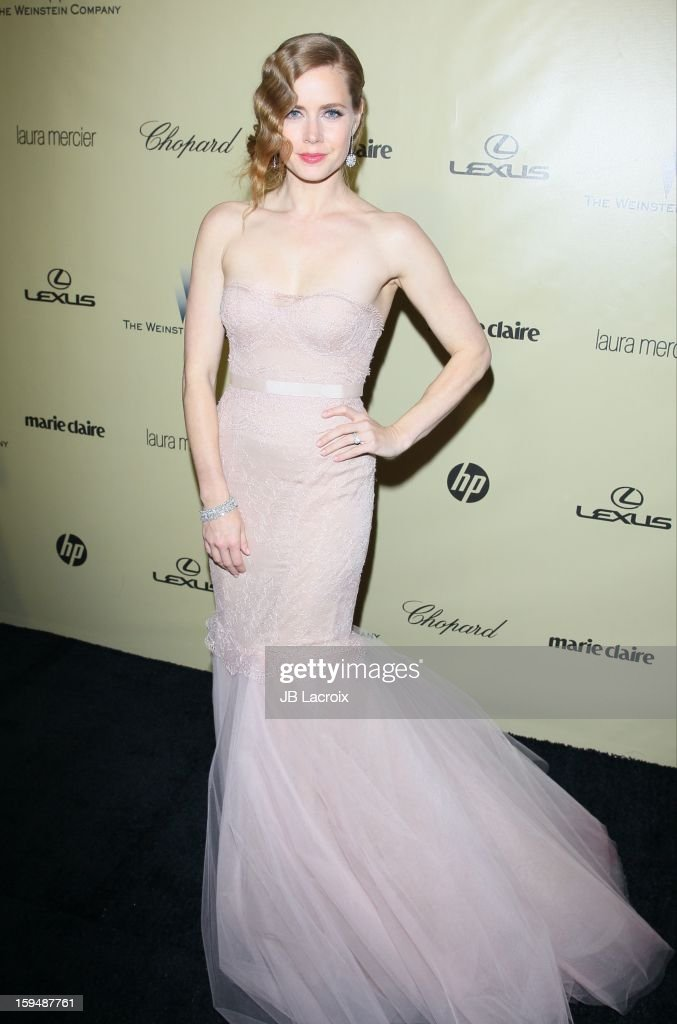 Amy Adams attends The Weinstein Company's 2013 Golden Globes After Party at The Beverly Hilton Hotel on January 13, 2013 in Beverly Hills, California.