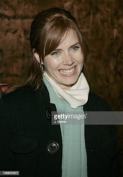 Amy Adams during 2005 Sundance Film Festival Ray Ban Visionary Award to Kevin Bacon Hosted by TCC/Hollywood Life at Stein Erickson in Park City Utah...