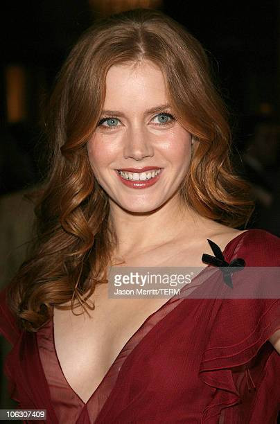 Amy Adams during 78th Annual Academy Awards Nominees Luncheon Outside Arrivals at Beverly Hilton Hotel in Beverly Hills California United States