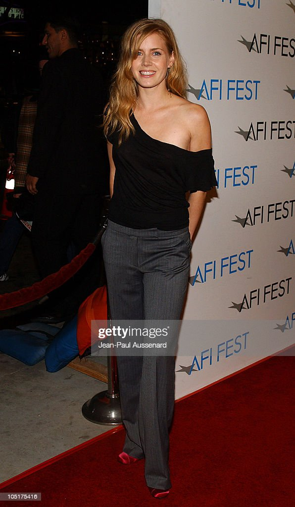 <a gi-track='captionPersonalityLinkClicked' href=/galleries/search?phrase=Amy+Adams&family=editorial&specificpeople=213938 ng-click='$event.stopPropagation()'>Amy Adams</a> during AFI Film Festival World Premiere of 'House Of Sand And Fog' - Arrivals at Cinerama Dome at the Arclight in Hollywood, California, United States.