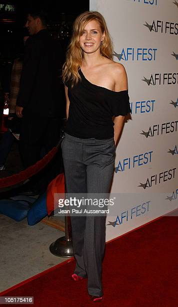 Amy Adams during AFI Film Festival World Premiere of 'House Of Sand And Fog' Arrivals at Cinerama Dome at the Arclight in Hollywood California United...