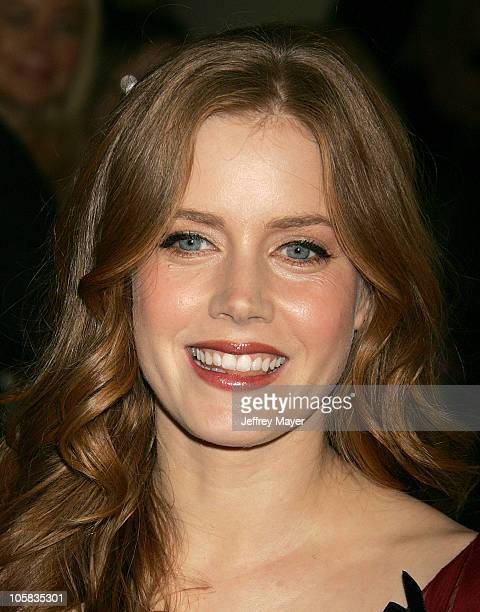 Amy Adams during The 78th Annual Academy Awards Nominees Luncheon Outside Arrivals at Beverly Hilton Hotel in Beverly Hills California United States