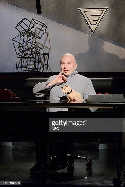 LIVE 'Amy Adams' Episode 1672 Pictured Mike Myers as DrEvil during the 'Sam Smith / Dr Evil Cold Open' skit on December 20 2014