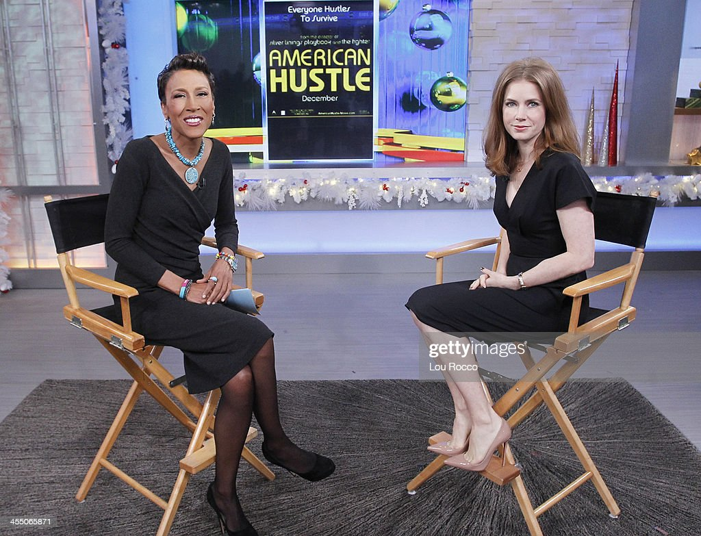 AMERICA - Amy Adams is a guest on 'Good Morning America,' 12/10/13, airing on the ABC Television Network. ADAMS