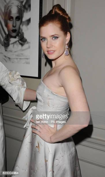 Amy Adams is seen at the screening for new film Doubt at the Browns Hotel in central London