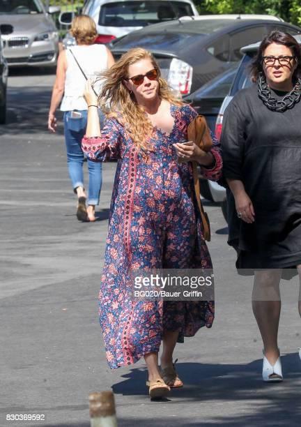 Amy Adams is seen on August 11 2017 in Los Angeles California