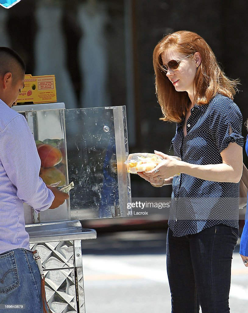 <a gi-track='captionPersonalityLinkClicked' href=/galleries/search?phrase=Amy+Adams&family=editorial&specificpeople=213938 ng-click='$event.stopPropagation()'>Amy Adams</a> is seen on May 29, 2013 in Los Angeles, California.