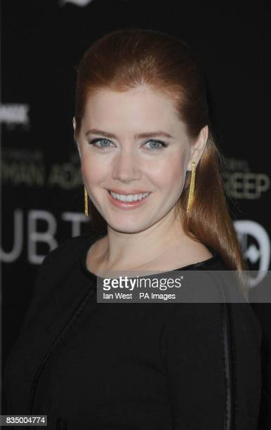 Amy Adams poses for pictures to promote latest film Doubt at Claridges Hotel in London