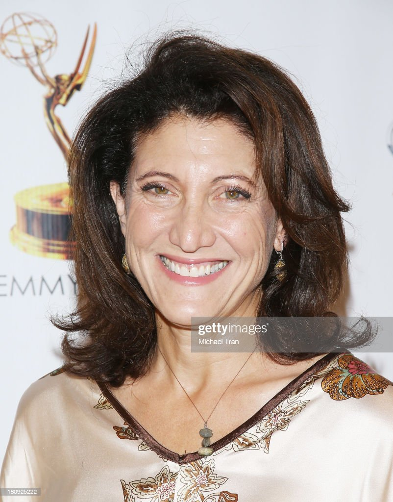 Amy Aquino arrives at The Academy of Television Arts & Sciences and SAG-AFTRA celebrate The 65th Primetime Emmy Award Nominees held at Academy of Television Arts & Sciences on September 17, 2013 in North Hollywood, California.