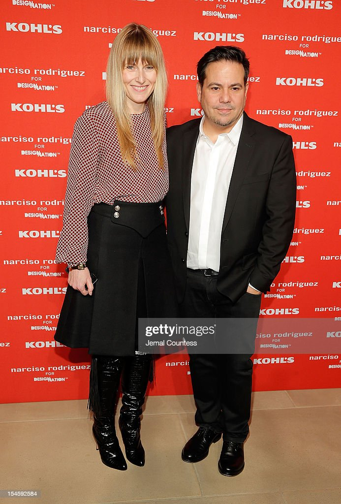 <a gi-track='captionPersonalityLinkClicked' href=/galleries/search?phrase=Amy+Astley&family=editorial&specificpeople=653167 ng-click='$event.stopPropagation()'>Amy Astley</a> and designer Narciso Rodriguez attend Narciso Rodriguez Kohl's Collection Launch Party at IAC Building on October 22, 2012 in New York City.