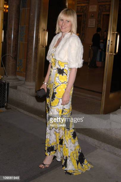 Amy Astley editorinchief of Teen Vogue during Martha Graham Dance Company Opening Night Gala April 6 2005 at New York City Center in New York City...