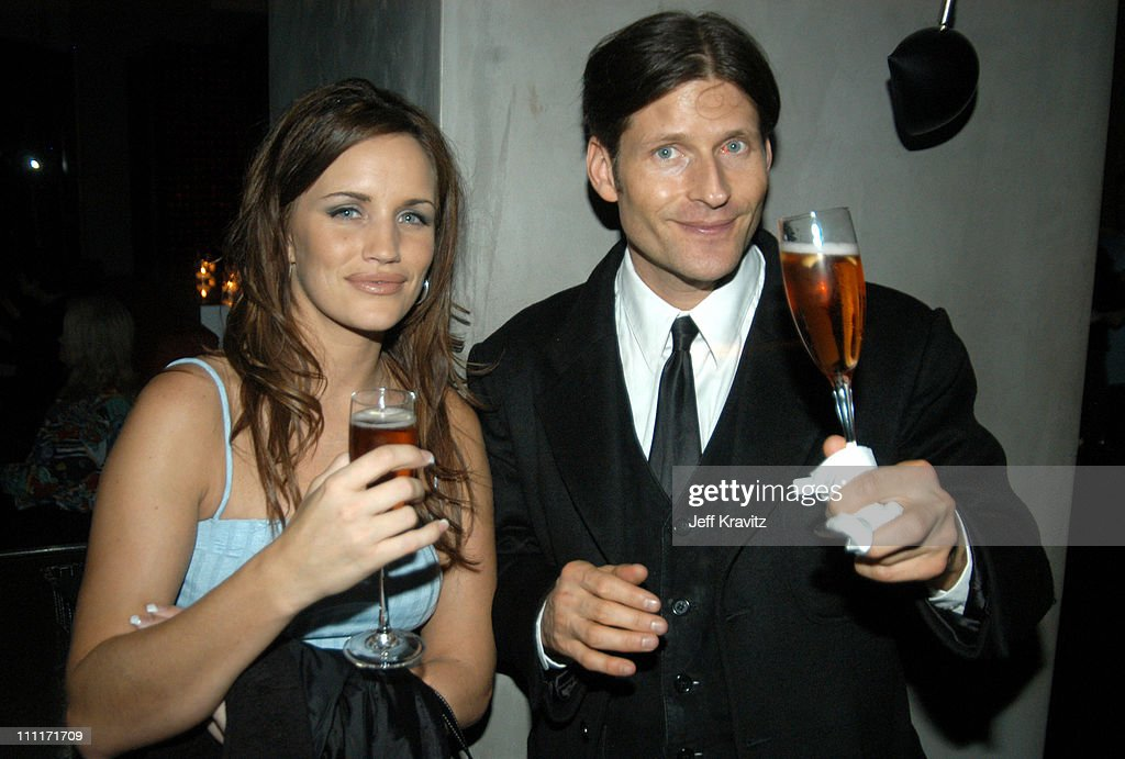Amy Aubuchon and Crispin Glover during 'Bad Santa' - Los Angeles Premiere and After-Party at Bruin Theater in Westwood, California, United States.