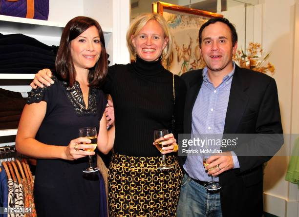 Amy Beal Barbara McLaughlin and Carter Beal attend Opening Party for the new Lexington Avenue J McLaughlin Stores at 1004 Lexington Ave at 72nd St on...
