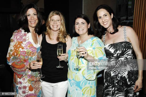 Amy Beal Stacey Kidd Mary Beth Adelson and Elizabeth Manasse attend GEORG JENSEN Platinum Jewels in Bloom Cocktail Reception at Georg Jensen on April...