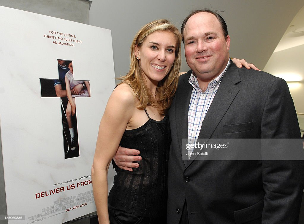 Amy Berg director and John Manly during 'Deliver Us From Evil' Private Screening Hosted by Catherine Keener at The Endeavor Screening Room in Los...