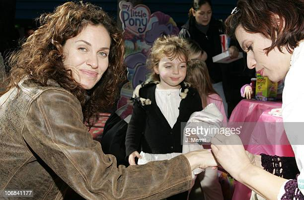 Amy Brenneman and daughter Charlotte