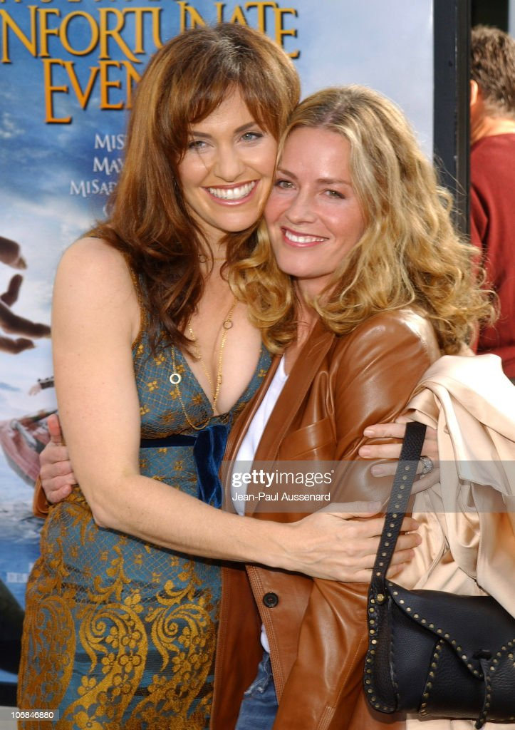 Amy Brenneman and Elisabeth Shue during 'Lemony Snicket's A Series of Unfortunate Events' Los Angeles Premiere Arrivals at Cinerama Dome in Hollywood...