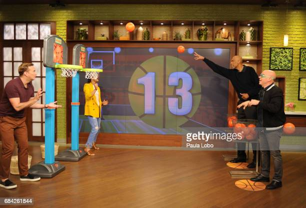 THE CHEW Amy Brenneman and Kareem AbdulJabbar are the guests Friday May 19 2017 on ABC's 'The Chew' 'The Chew' airs MONDAY FRIDAY on the ABC...