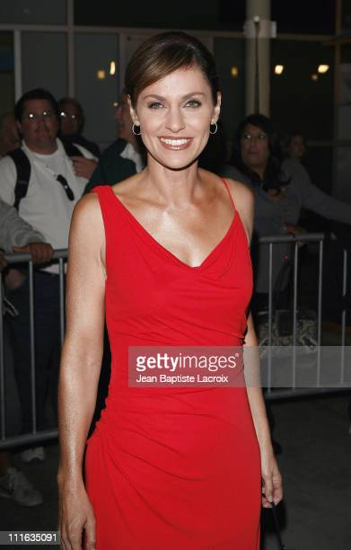 Amy Brenneman arrives at The Jane Austen Book Club Premiere at the Arclight Theater on September 20 2007 in Hollywood California