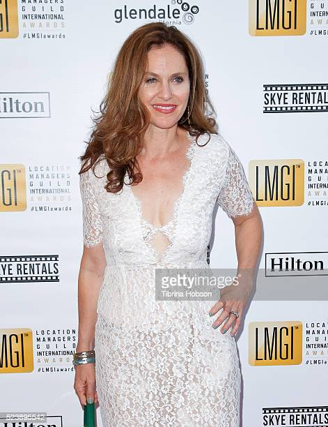 Amy Brenneman attends the 3rd annual Location Managers Guild International Awards at The Alex Theatre on April 23 2016 in Glendale California
