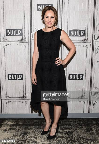 Amy Brenneman attends the Build Series to discuss the HBO show 'The Leftovers' at Build Studio on May 16 2017 in New York City
