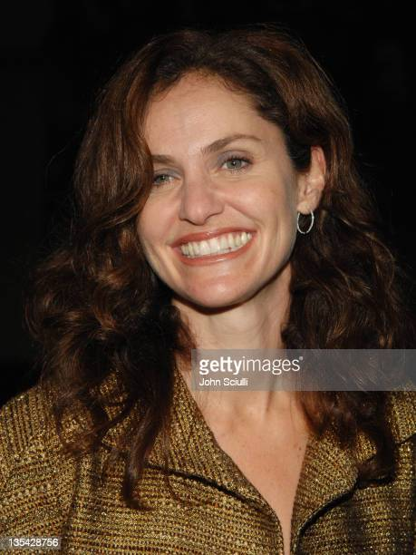 Amy Brenneman during '10 Items or Less' Los Angeles Premiere Arrivals at Paramount Theater in Los Angeles California United States