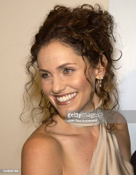 Amy Brenneman during 2002 Women In Film Crystal Lucy Awards at Century Plaza Hotel in Century City California United States