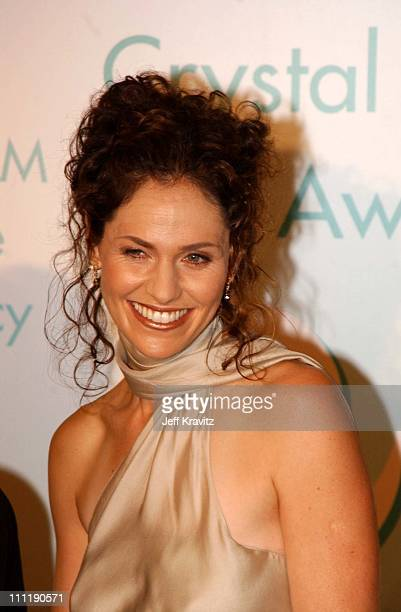 Amy Brenneman during 2002 Women in Film Crystal Lucy Awards at Century Plaza Hotel in Los Angeles California United States