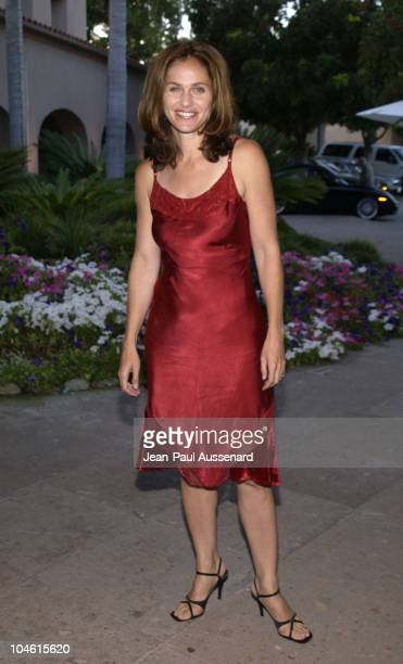 Amy Brenneman during CBS Summer 2002 Press Tour Party at Ritz Carlton Hotel in Pasadena California United States
